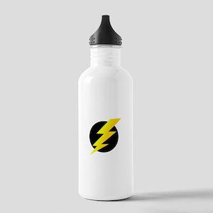 Lightning Bolt Stainless Water Bottle 1.0L