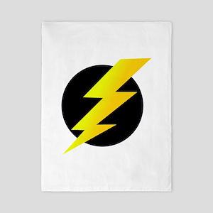 Lightning Bolt Twin Duvet
