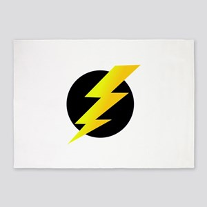 Lightning Bolt 5'x7'Area Rug