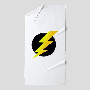 Lightning Bolt Beach Towel