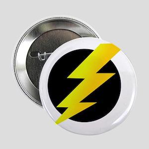 """Lightning Bolt 2.25"""" Button"""