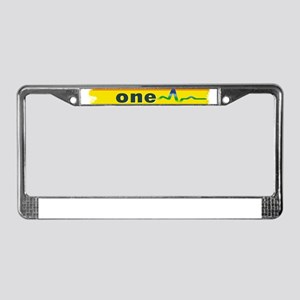 One Orlando Strong Pulse License Plate Frame