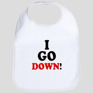 I GO DOWN! Bib