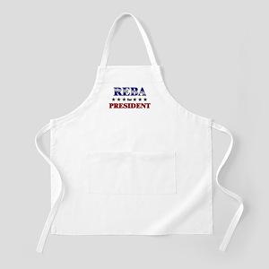 REBA for president BBQ Apron