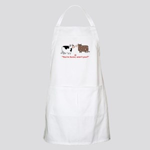 You're Swiss? BBQ Apron