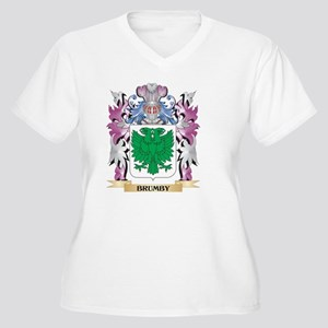 Brumby Coat of Arms (Family Cres Plus Size T-Shirt