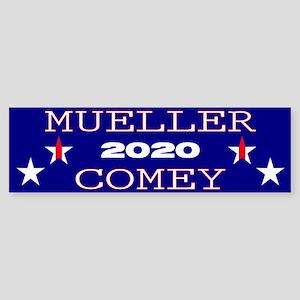 Mueller Comey 2020 Bumper Sticker