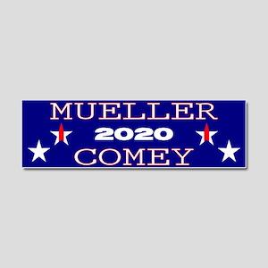 Mueller Comey 2020 Car Magnet 10 x 3