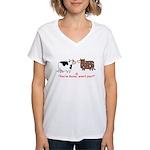 You're Swiss? Women's V-Neck T-Shirt