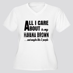 All I care about Women's Plus Size V-Neck T-Shirt