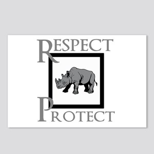 Protect Rhinos Postcards (Package of 8)