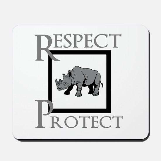 Protect Rhinos Mousepad