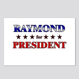 RAYMOND for president Postcards (Package of 8)