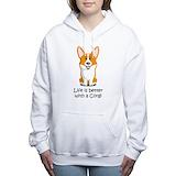 Corgi Hooded Sweatshirt