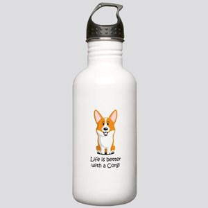 Life Is Better With A Stainless Water Bottle 1.0L