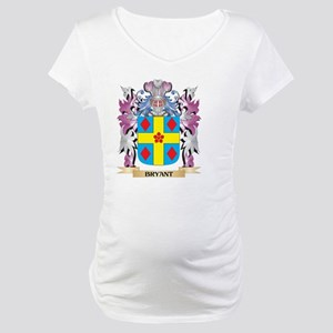 Bryant Coat of Arms (Family Cres Maternity T-Shirt