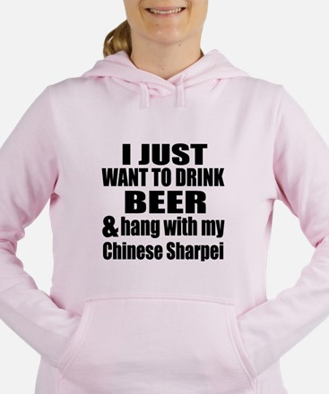 Hang With My Chinese Sha Women's Hooded Sweatshirt