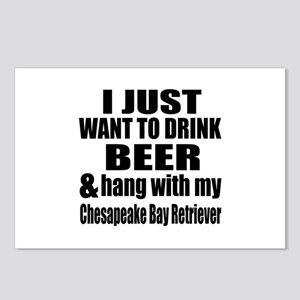 Hang With My Chesapeake B Postcards (Package of 8)