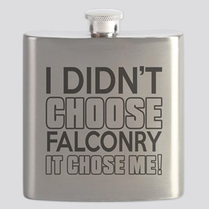 Falconry It Chose Me Flask