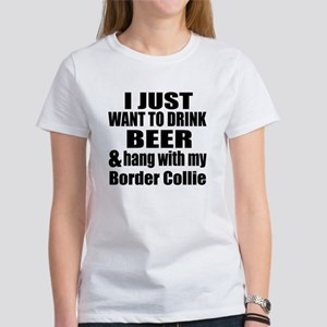 Hang With My Border Collie Women's T-Shirt
