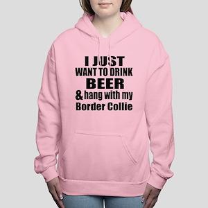 Hang With My Border Coll Women's Hooded Sweatshirt