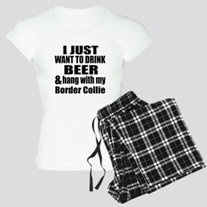 Hang With My Border Collie Women's Light Pajamas