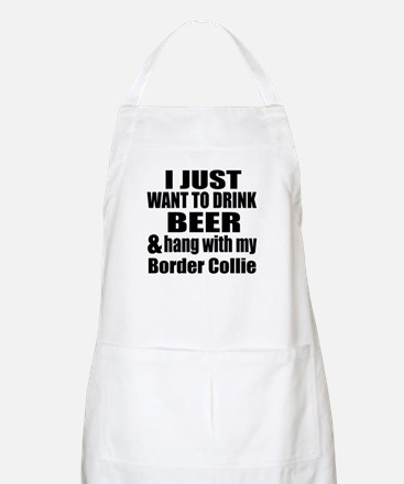 Hang With My Border Collie Apron
