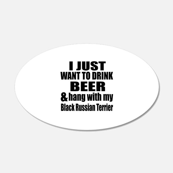 Hang With My Black Russian T Wall Decal