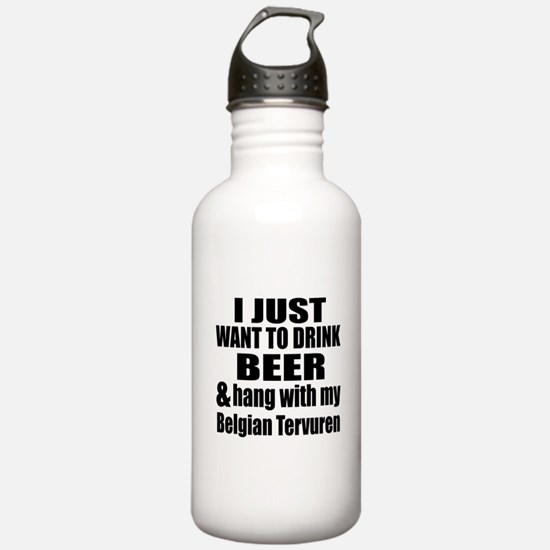 Hang With My Belgian T Water Bottle