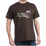 Save Water Drink Wine Dark T-Shirt