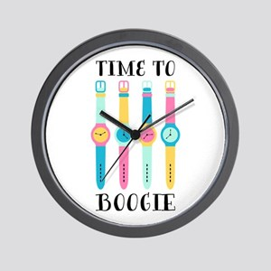 Boogie Time Wall Clock