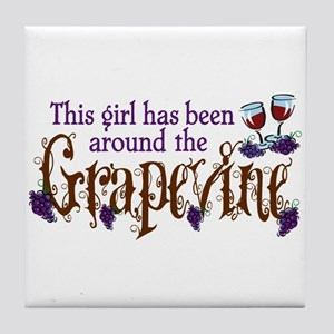 Grapevine Tile Coaster