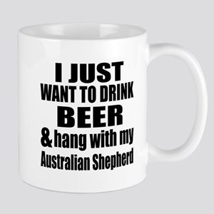 Hang With My Australian Shepherd Mug