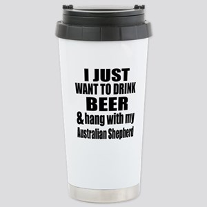 Hang With My Australian Stainless Steel Travel Mug