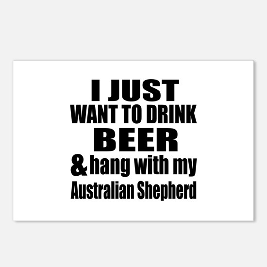 Hang With My Australian S Postcards (Package of 8)