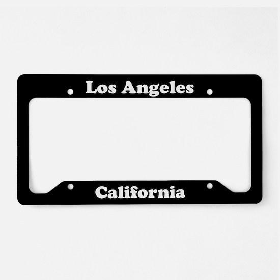 Los Angeles CA License Plate Holder