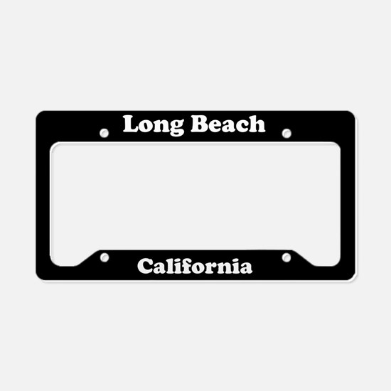 Long Beach CA License Plate Holder