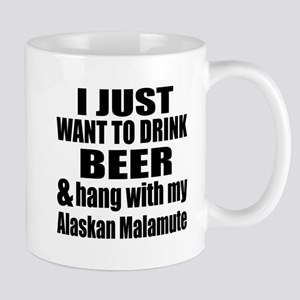 Hang With My Alaskan Malamute Mug
