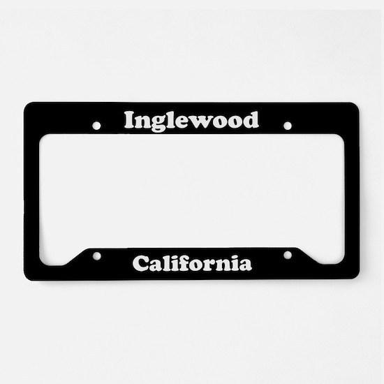 Inglewood CA License Plate Holder
