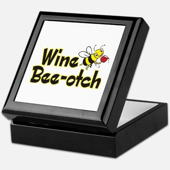 Wine Bee-Otch Tile Box