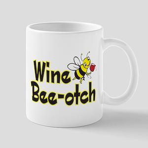Wine Bee-Otch Mug