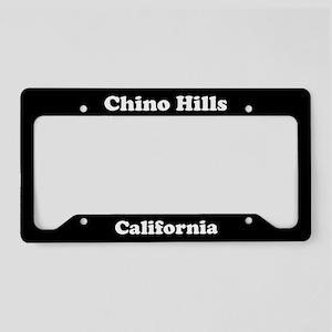 Chino Hills CA License Plate Holder