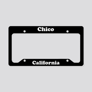 Chico CA License Plate Holder