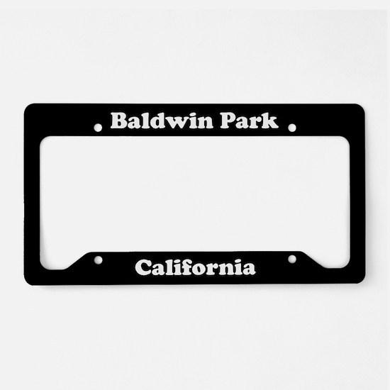 Baldwin Park CA License Plate Holder