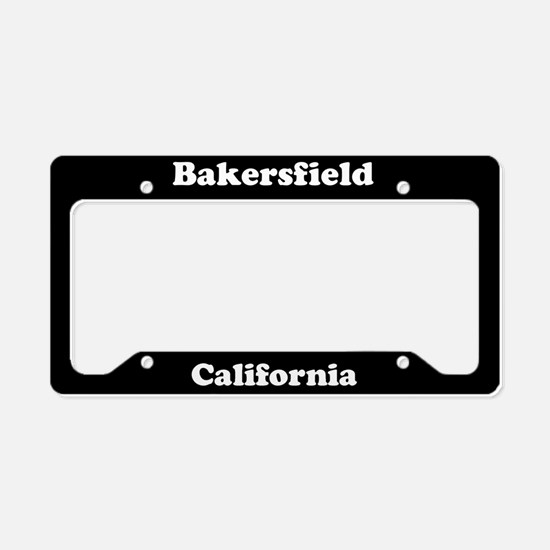 Bakersfield CA License Plate Holder