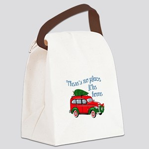 No Place Like Home Canvas Lunch Bag