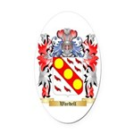 Wardell Oval Car Magnet
