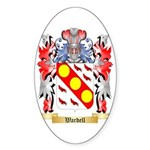 Wardell Sticker (Oval 50 pk)