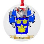 Warde Round Ornament