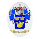 Warde Oval Ornament